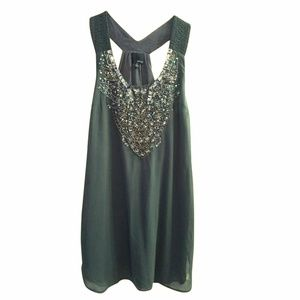 Anthropologie Greylin Bead Embellished Dress Tunic